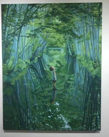アジアのアートフェアにも多数出展する吉田涼香
