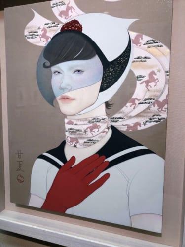 ヤマダチカ、柳田真理、呉亜沙、蒼野甘夏 -HANAの展覧会訪問-