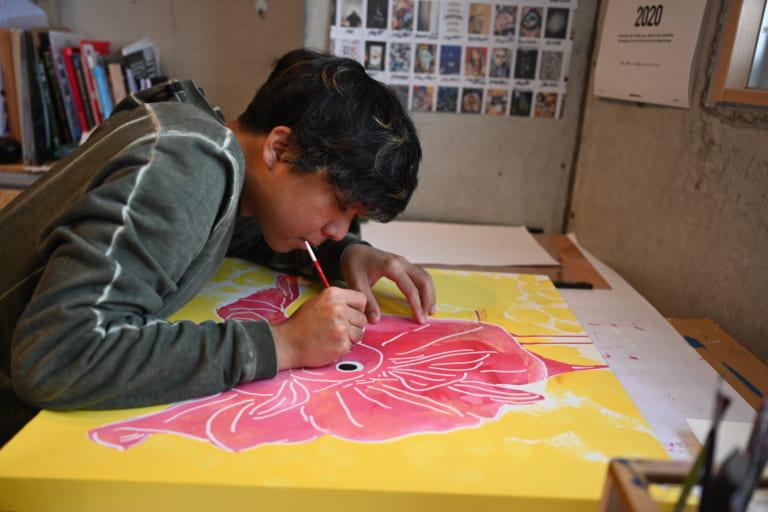 HAYATO MACHIDAのアトリエ「アトリエでいいことも悪いことも全て作品に」-アーティストインタビュー-