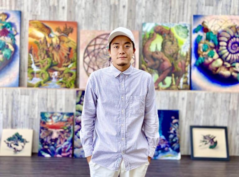 """画家・ZiNインタビュー「授業を""""自動化""""する仕組みを構築」-オンライン絵画教室ZiNART-"""