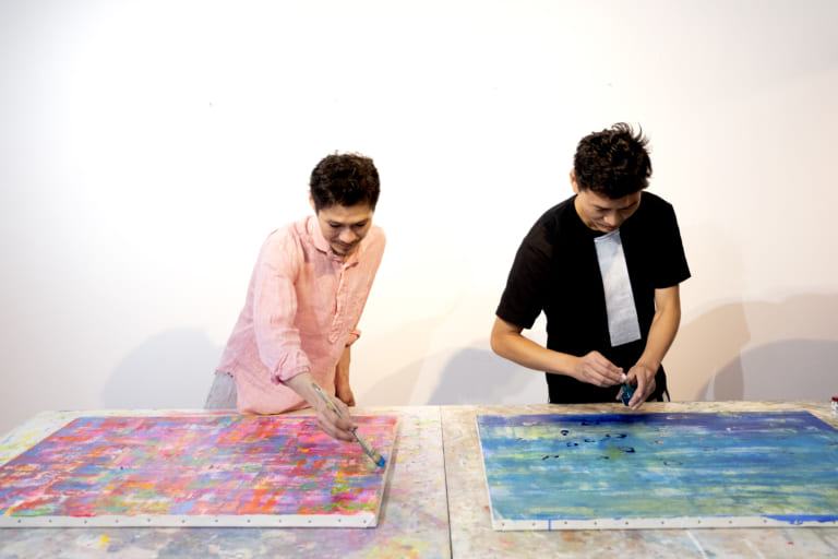 画家・Fujiyoshi Brother's「今日も明日も明後日も、常に挑戦し続けていかなければならない」 -ARTFULLインタビュー-