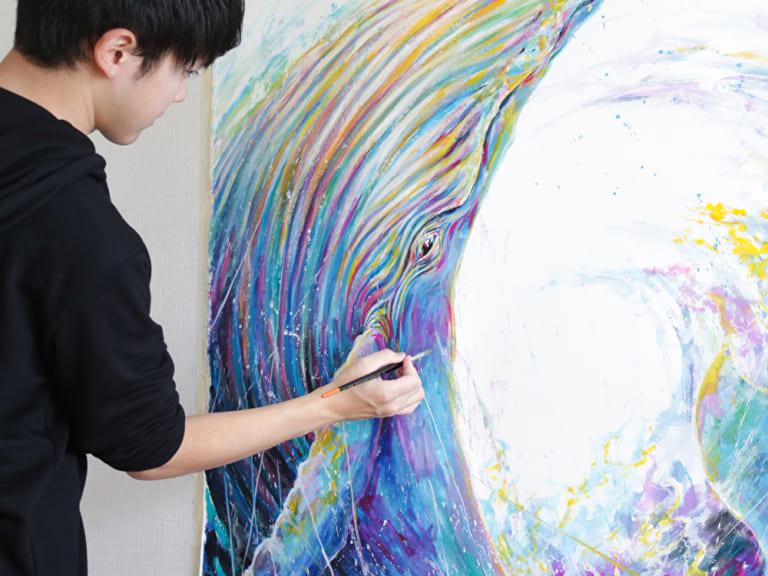 水彩画家・平田 幸大「人生のプラスになるような感情を、絵に込めたい。」-ARTFULLインタビュー-