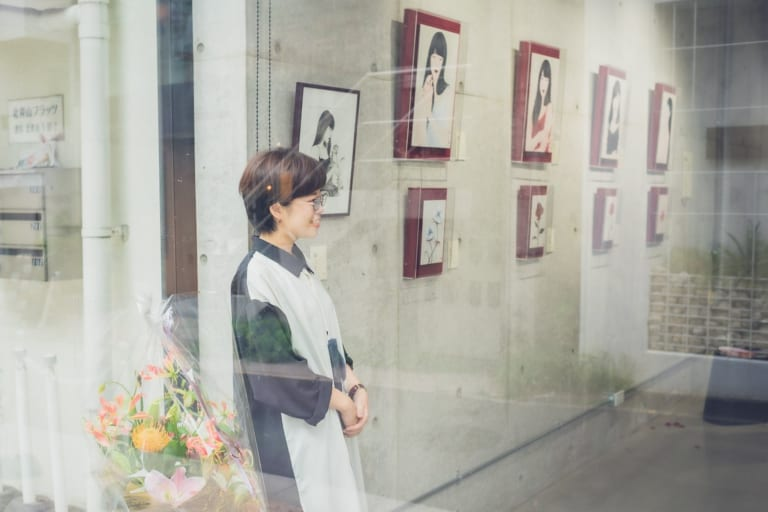 """日本画家・丁子紅子「一番表現したいのは """"心""""」-ARTFULLインタビュー-"""