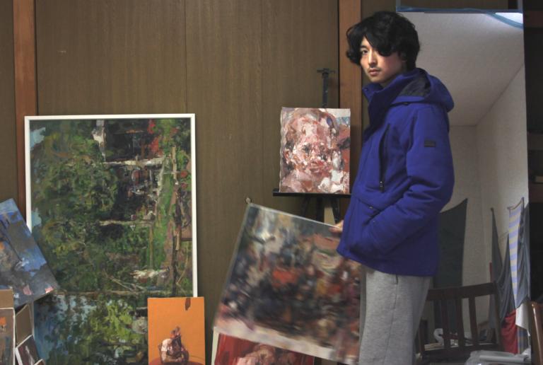 画家・三輪 瑛士「見たものを見えたままに描くとはどういうことか」-ARTFULLインタビュー-