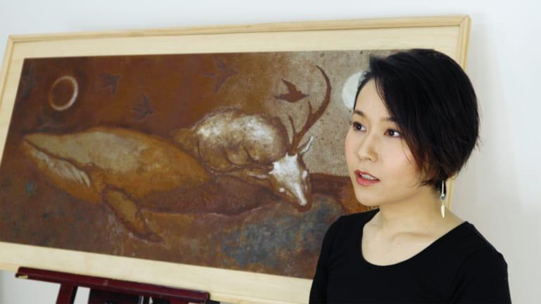 鉄錆師・YASUKA.M「朽ちて・還り・循環する郷愁に想いを込めて」-ARTFULLインタビュー-